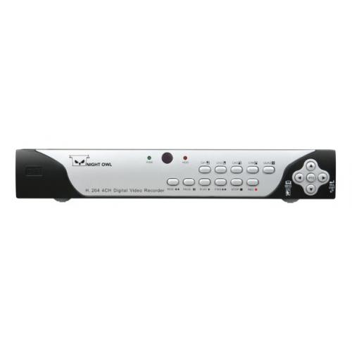 Night Owl 4 Channel H 264 Dvr With 4 Night Vision Cameras